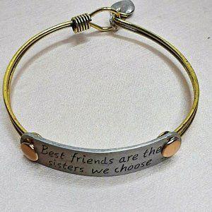 UNQJRY Friendship Best Friend Bracelet Vintage